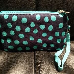 Thirty-One Easy Going Wristlet with Strap